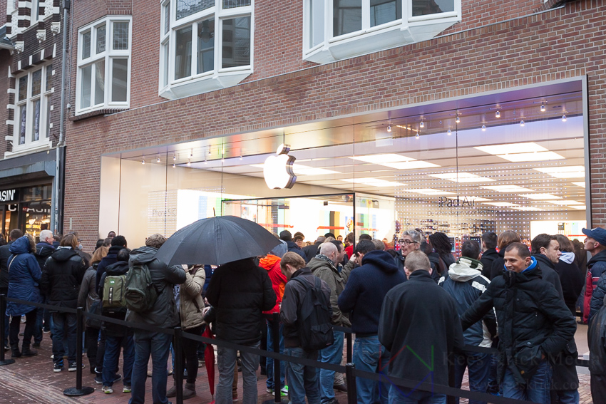 Opening Apple Store Haarlem door Kees Krick Media